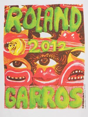 R Garros afiche