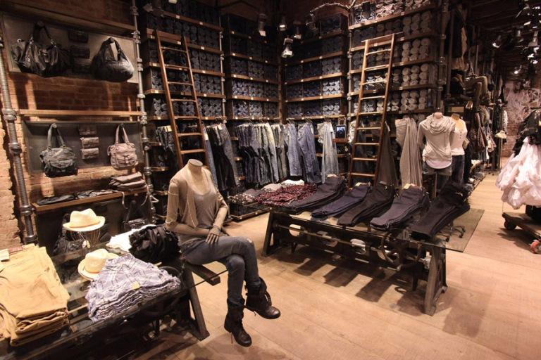 AllSaints Spitalfields Soho Store